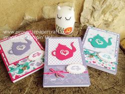 Customer gift notebooks