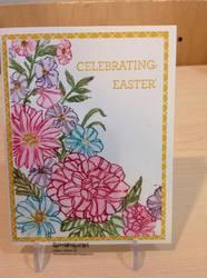 Garden corner easter card