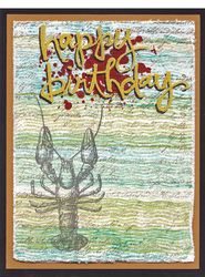 By the tide crawfish happy birthday