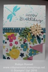 Card 437 pleated skirt fold tall