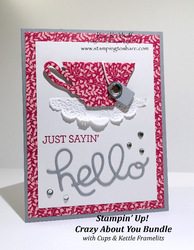 62 crazy about you bundle with cups   kettle framelits