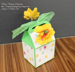 Bakers box flower stand 2a