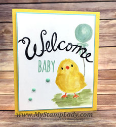 Welcome chick baby