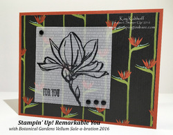 69 stampin  up  remarkable you