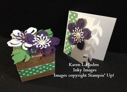 Gift box and card