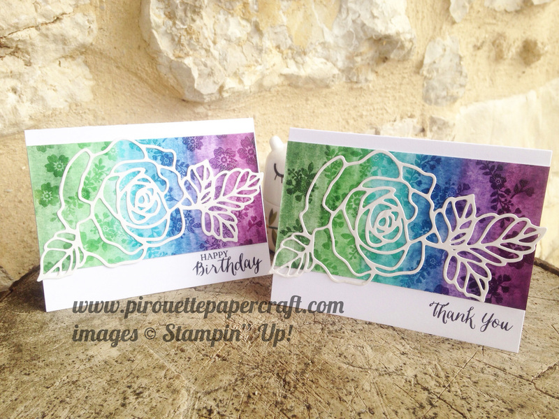 Watercolour lifted cards