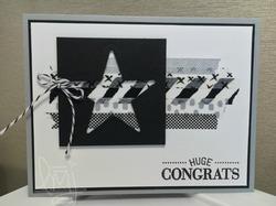 Congrats washi