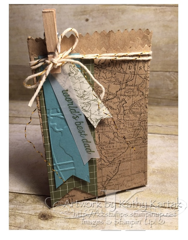 World Map Gift Bags.Creation Station Manly Gift Bag Thesearemystamps