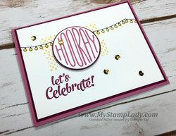 Sweet confetti celebration