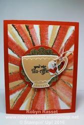 Bouncing brayer teacup tall