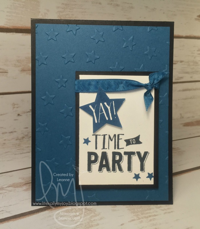 Time to party dapper denim