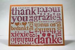 Card 463 a world of thanks