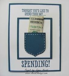 Pocket card