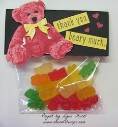 Baby bear gummy bears