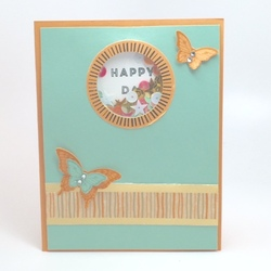 Paper pumpkin may 2016 card