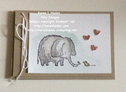 Love you lots elephant card