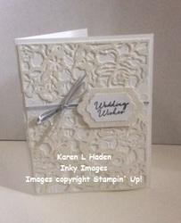 Floral wedding card 3
