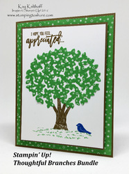 148 thoughtful branches summer card