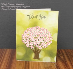 Serene scenery thoughful branches card 1a