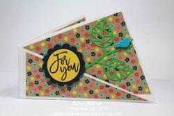 Card 482 twisted fold
