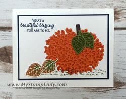 Leaf pumpkin