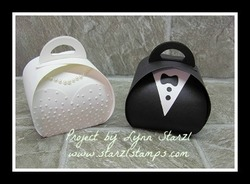 Wedding curvy keepsake box