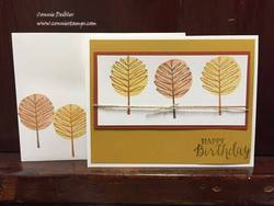 Totally trees card and envelope