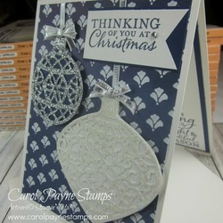 Stampin up embellished ornaments carolpaynestamps2