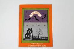Card 498 halloween home