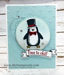 Penguin stitched