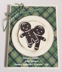 Plate of cookies card