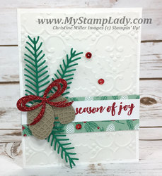Embossed vellum background