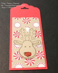 Cookie cutter bookmark