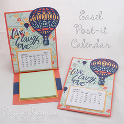 161215 balloon post it calendar 7