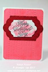 Happy hearts valentine tall