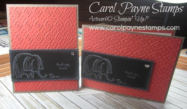 Stampin up love you lots carolpaynestamps6