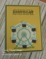 Stampin up carousel birthday carolpaynestamps1