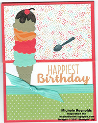 Cool treats expanding ice cream cone watermark