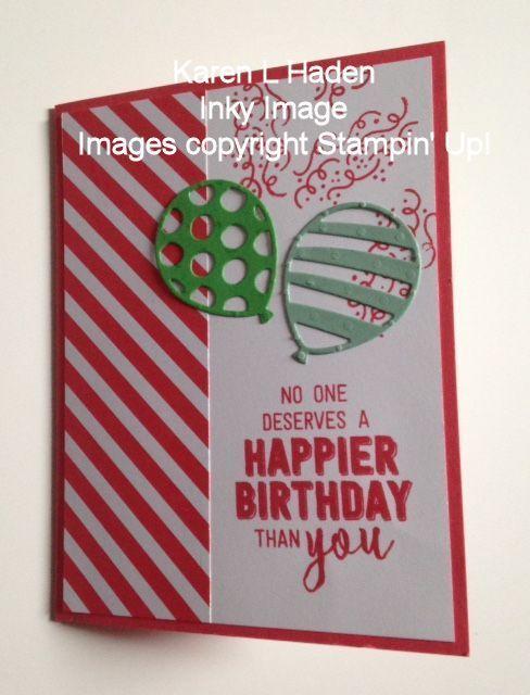 Pop open balloon card closed