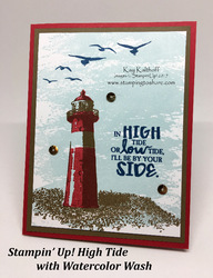 52 high tide lighthouse card