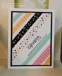 Playful palette washi tape stripe 1a