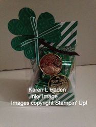 St. patrick s day treat bag