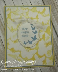 Stampin up thats the tag mother carolpaynestamps1