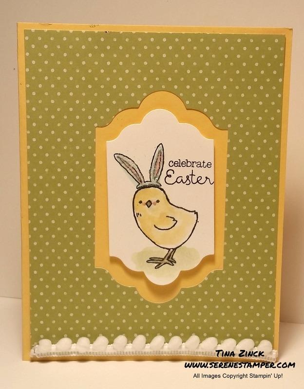 Little cuties easy easter card serene stamper