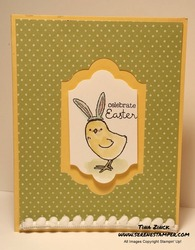 Little cuties easy easter card serene stamper