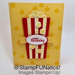 Popcorn card