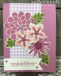 Flower patch congratulations