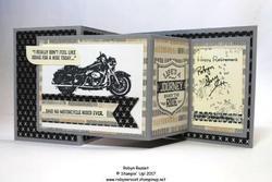 One wild ride z fold retirement card 2