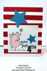 This little piggy 4th of july tall