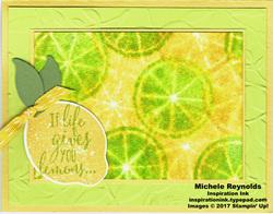 Lemon zest iced lemons watermark